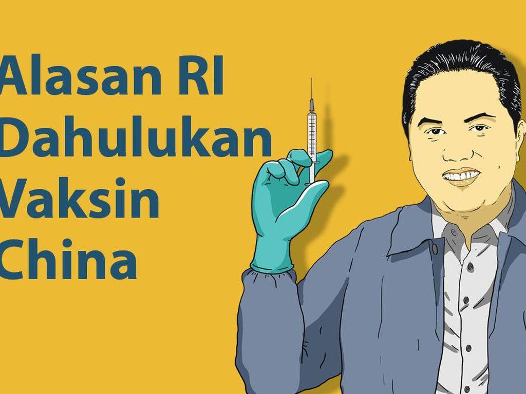 3 Fakta Vaksin China Jadi Prioritas
