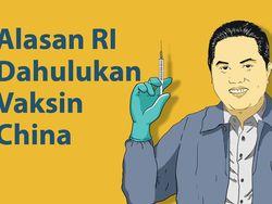 Alasan RI Dahulukan Vaksin China