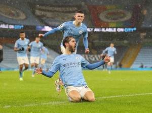 Man City Vs Villa: Menang 2-0, The Citizens ke Puncak Klasemen