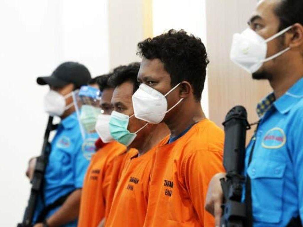 BNN Tangkap 3 Kurir Narkoba Jaringan Malaysia di Sulteng, 42 Kg Sabu Disita