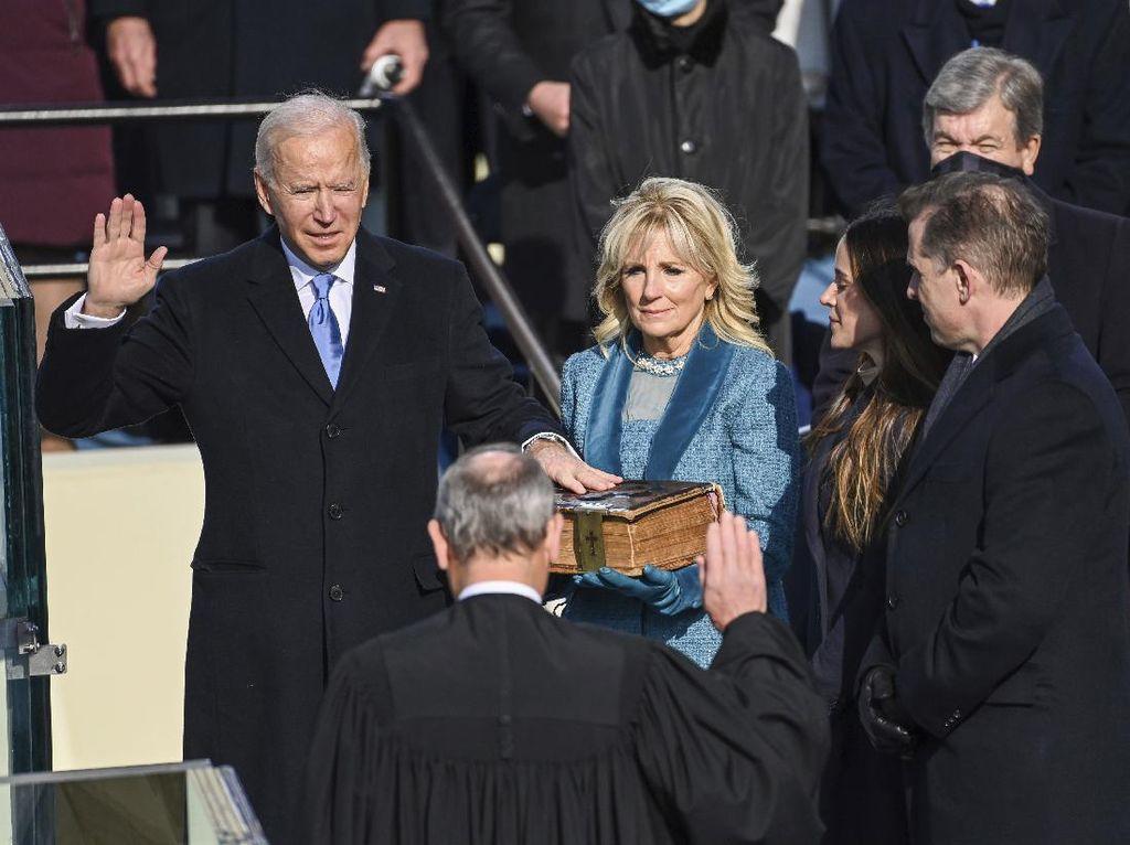 Ungkapan Terima Kasih Ibu Negara AS Jill Biden