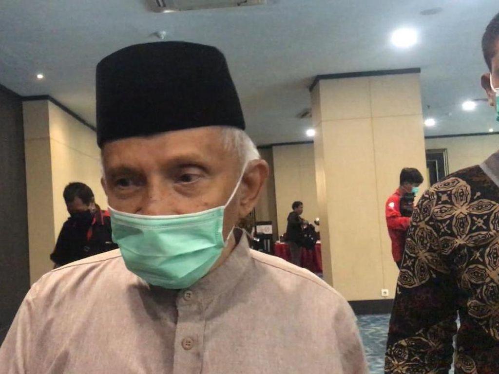 TP3 Bertemu Jokowi di Istana Bahas Kasus Km 50, Amien Rais Ikut Serta