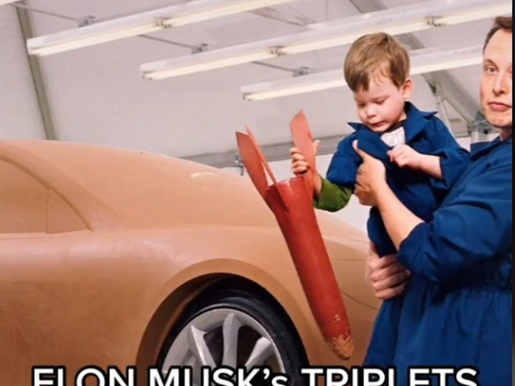 Cerita Viral Babysitter Saat Mengasuh 3 Anak Kembar Elon Musk
