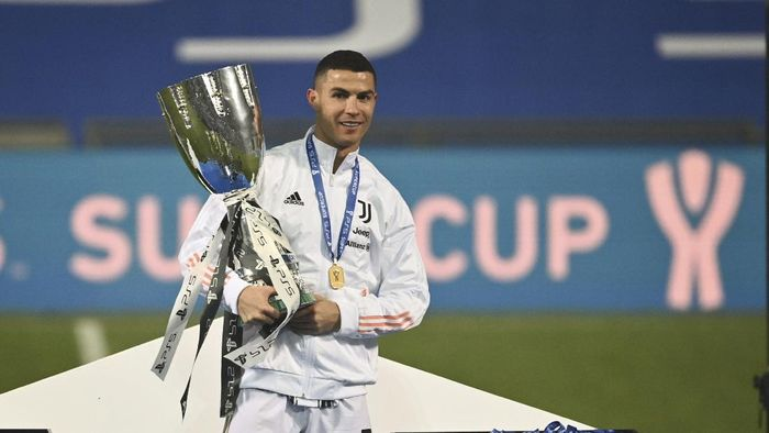 Juara Piala Super Italia Ronaldo Juventus Pede Lagi