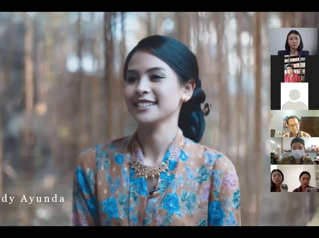 Maudy Ayunda dan Raisa Cantik Berkebaya di Buku Didiet Maulana, Ini Kisahnya