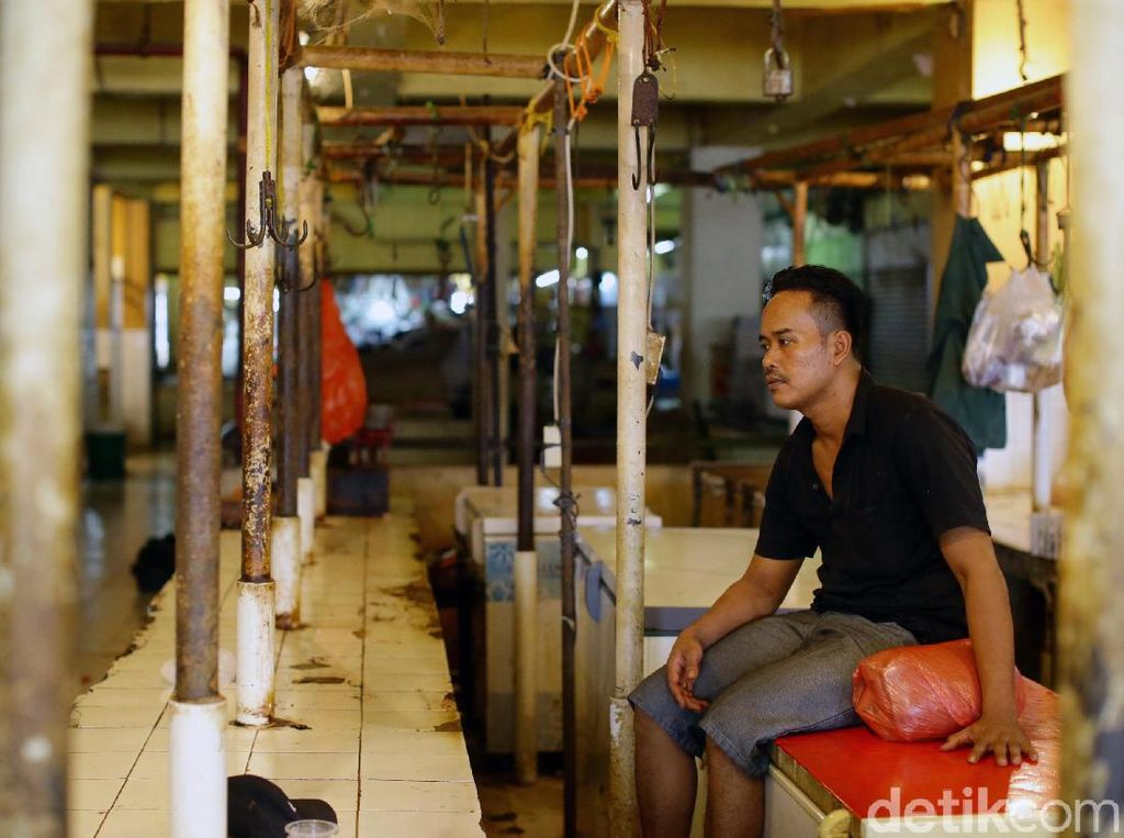 Hari Kedua Pedagang Daging Sapi Mogok Jualan