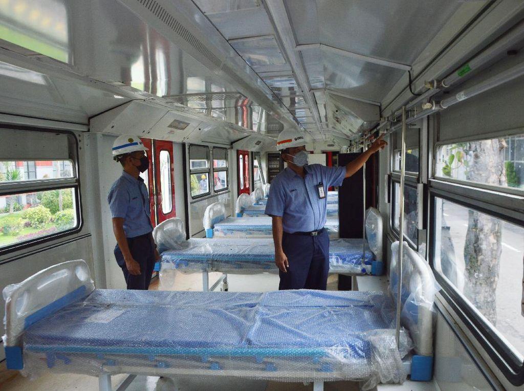 Ini Kereta yang Dirombak INKA Jadi Lokasi Isolasi Pasien Corona