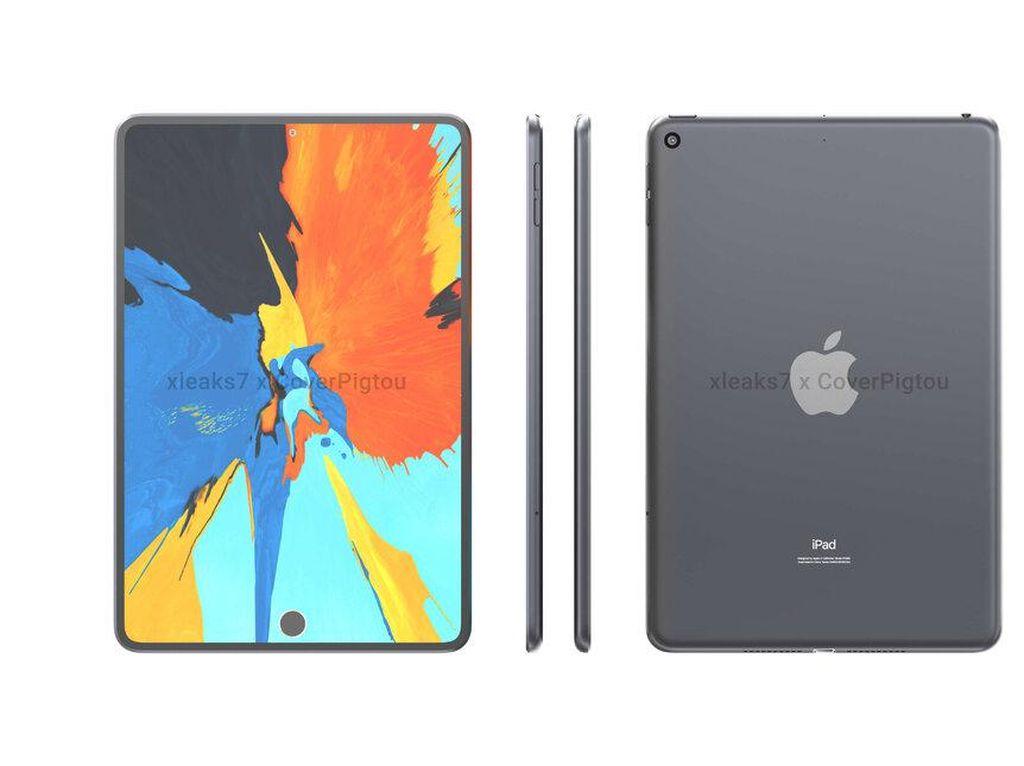 Bocoran iPad Mini 6: Touch ID, Punch Hole, dan Layar 9,1 Inch