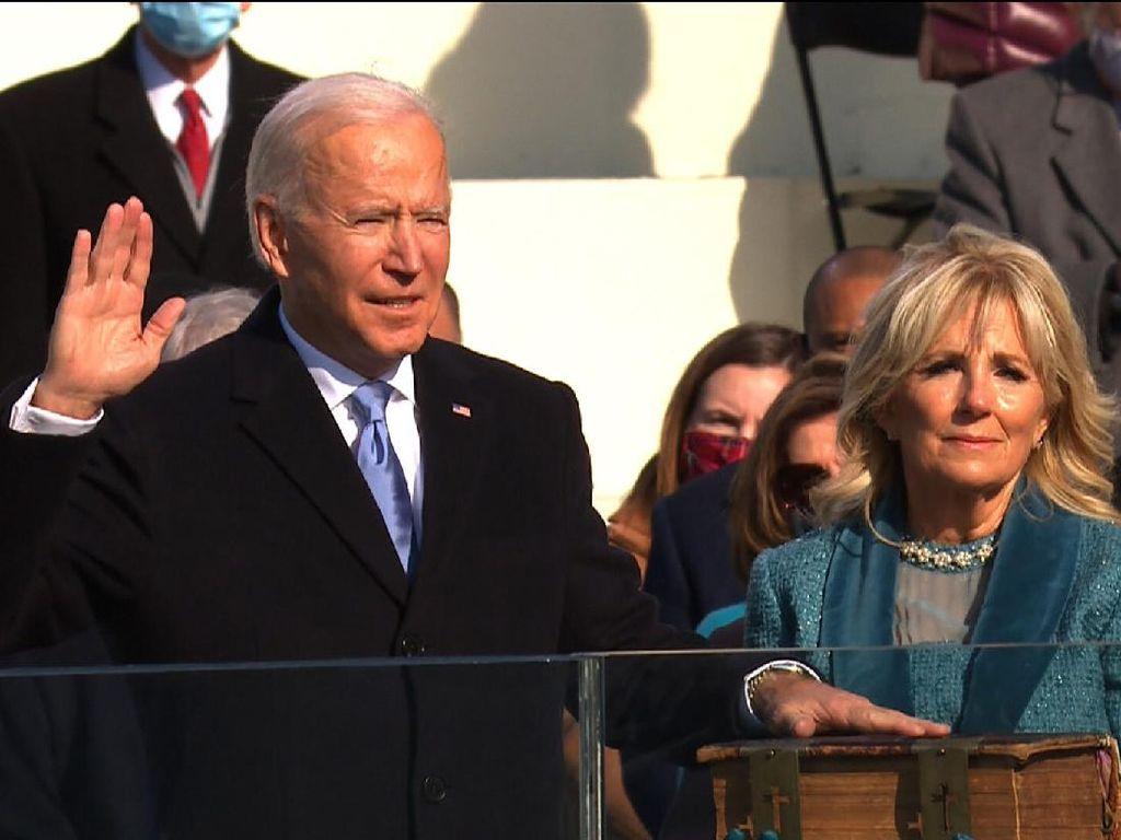 Joe Biden Disorot karena Pakai Jam Rolex, Pemakzulan Trump Dikirim ke Senat