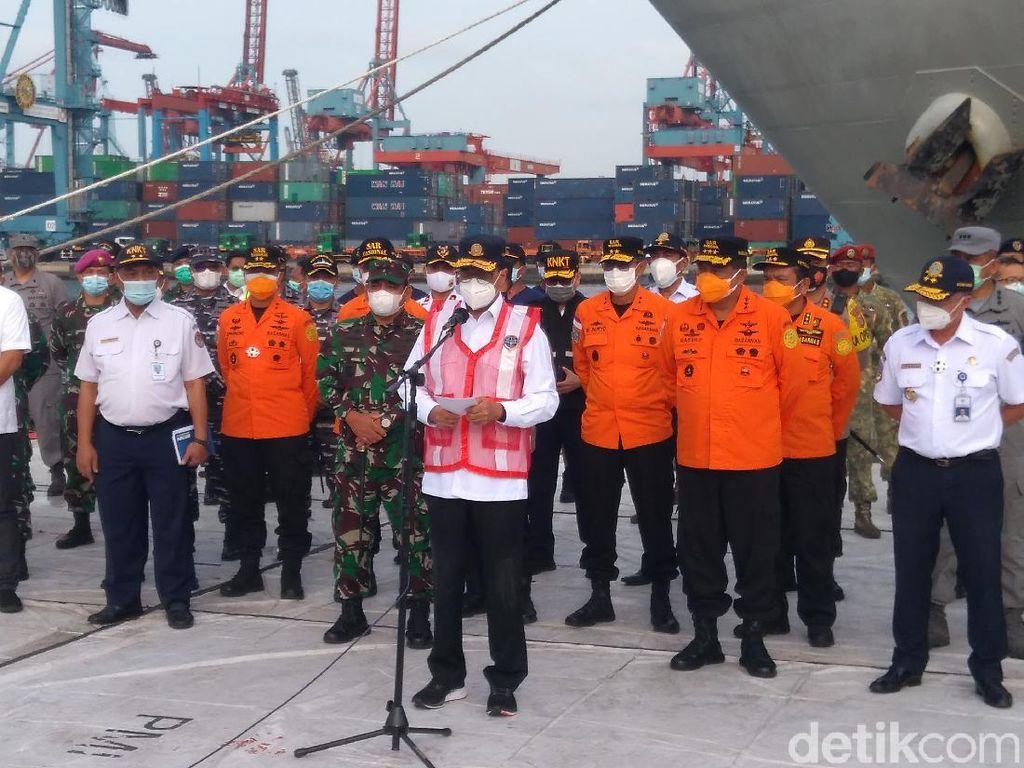 Menhub Alihkan Operasi Lanjutan Pencarian CVR Sriwijaya Air ke KNKT