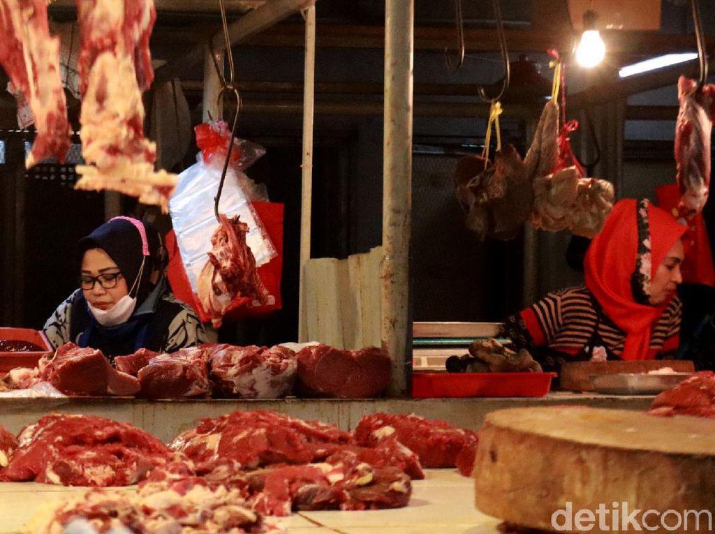 2 Hari Mogok, Pedagang Daging Sapi Buka Lapak Lagi Hari Ini!