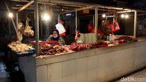 Keluh Kesah Pedagang di Pasar Bandung Gegara Harga Daging Sapi Naik
