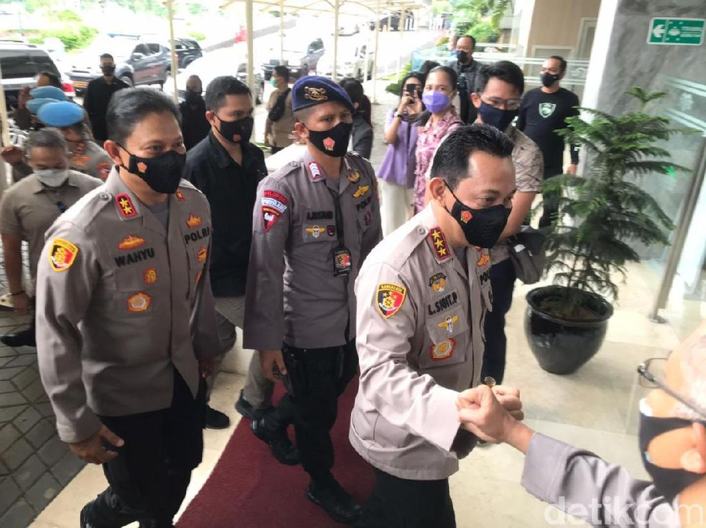 Komjen Listyo Sigit Tiba di DPR Jelang Paripurna Persetujuan Kapolri