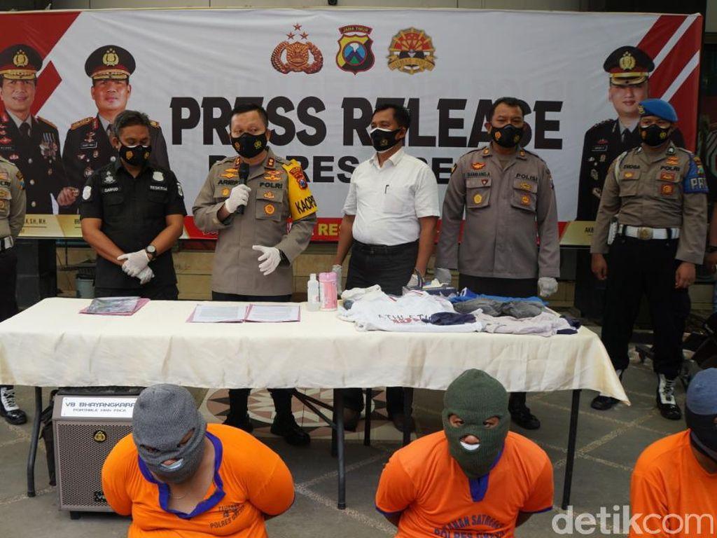 Polisi Gresik Gulung Komplotan Pelaku Curanmor