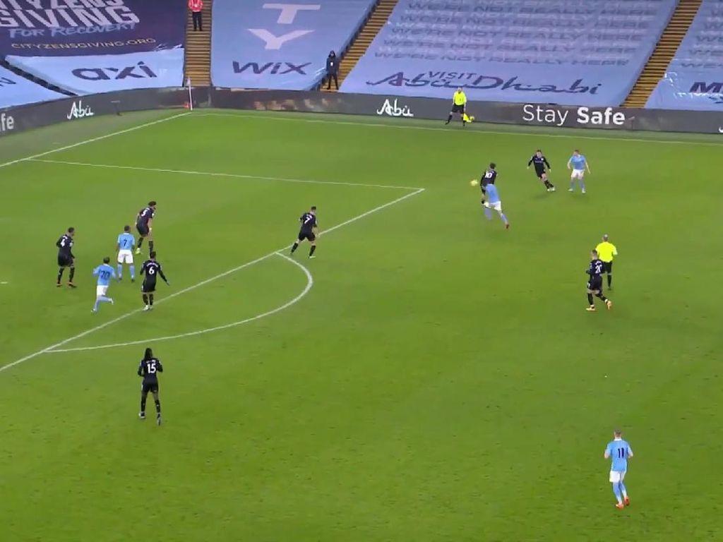 Video Cuplikan Laga Man City Vs Aston Villa yang Hadirkan 2 Gol