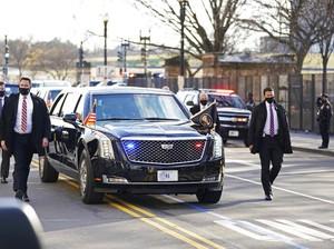 Resmi Jadi Presiden AS, Joe Biden Pakai Mobil Dinas Warisan Trump