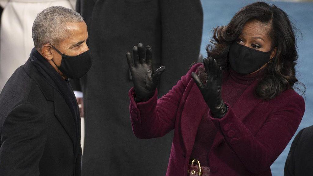 Momen Para Mantan Presiden AS Hadiri Pelantikan Joe Biden