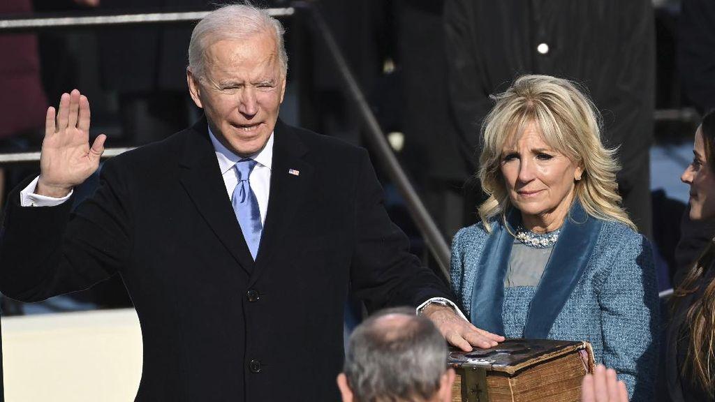 Momen Pelantikan Joe Biden Jadi Presiden AS