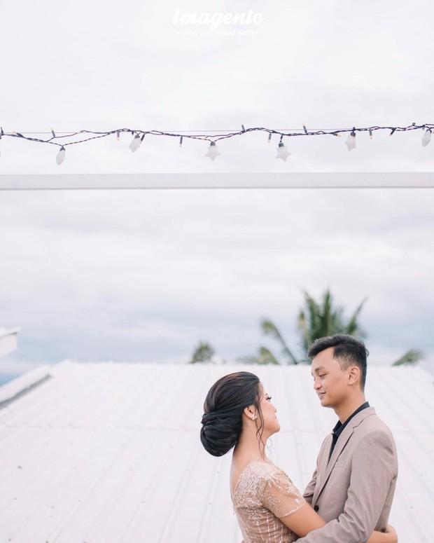 Pasangan Herlambang dan Hanum/Foto: instagram.com/hanummegaa