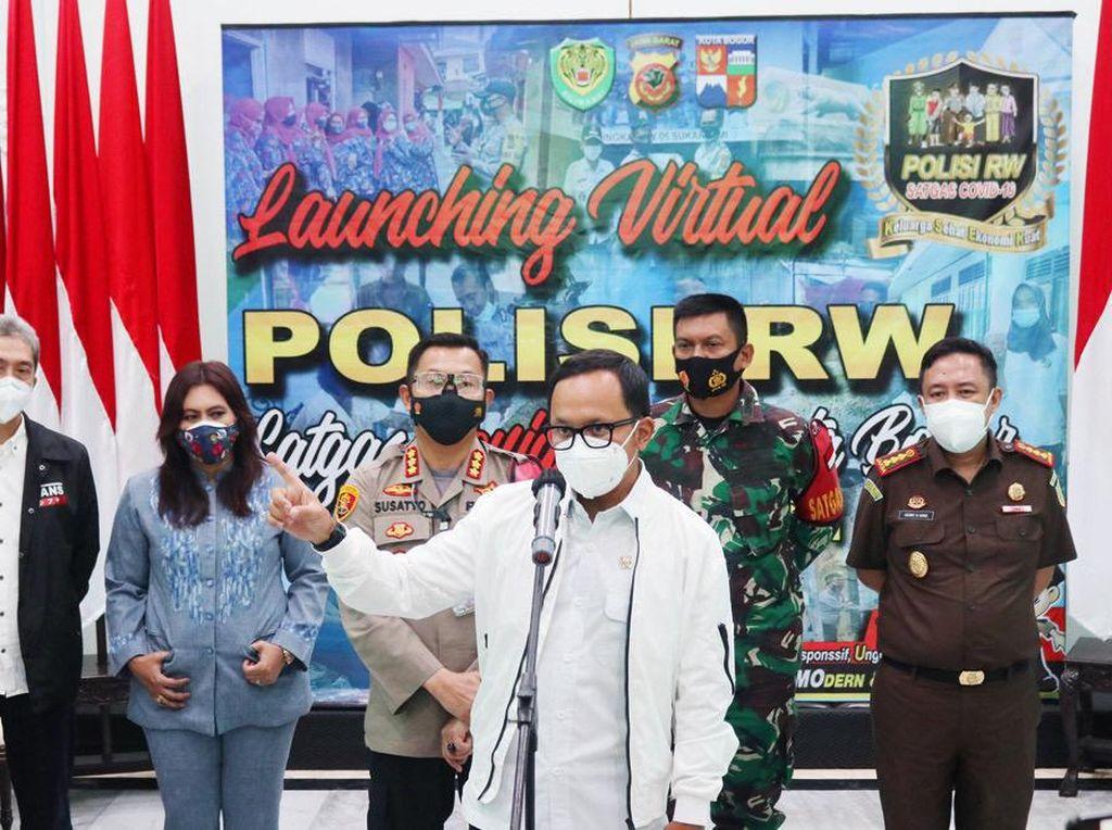 Polresta Bogor Kota Luncurkan Polisi RW untuk Tekan Angka COVID 19