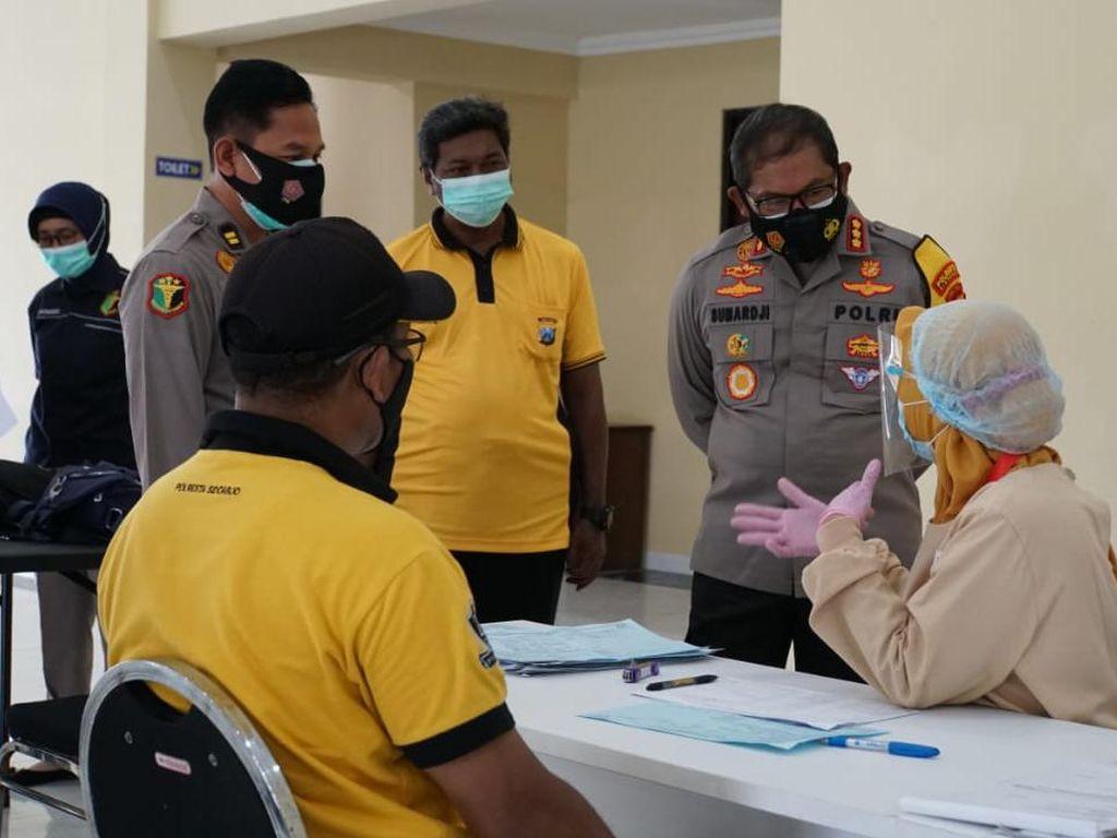 Puluhan Anggota Polisi Sidoarjo Donor Darah Plasma Konvalesen
