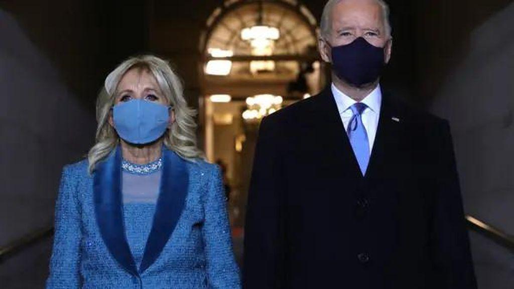 Potret Perbedaan Pelantikan Presiden AS Donald Trump dan Joe Biden