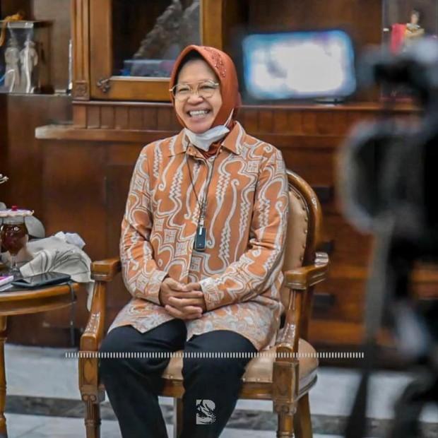 Sosok Ibu Tri Rismaharini sebagai tokoh wanita Indonesia yang menginspirasi.