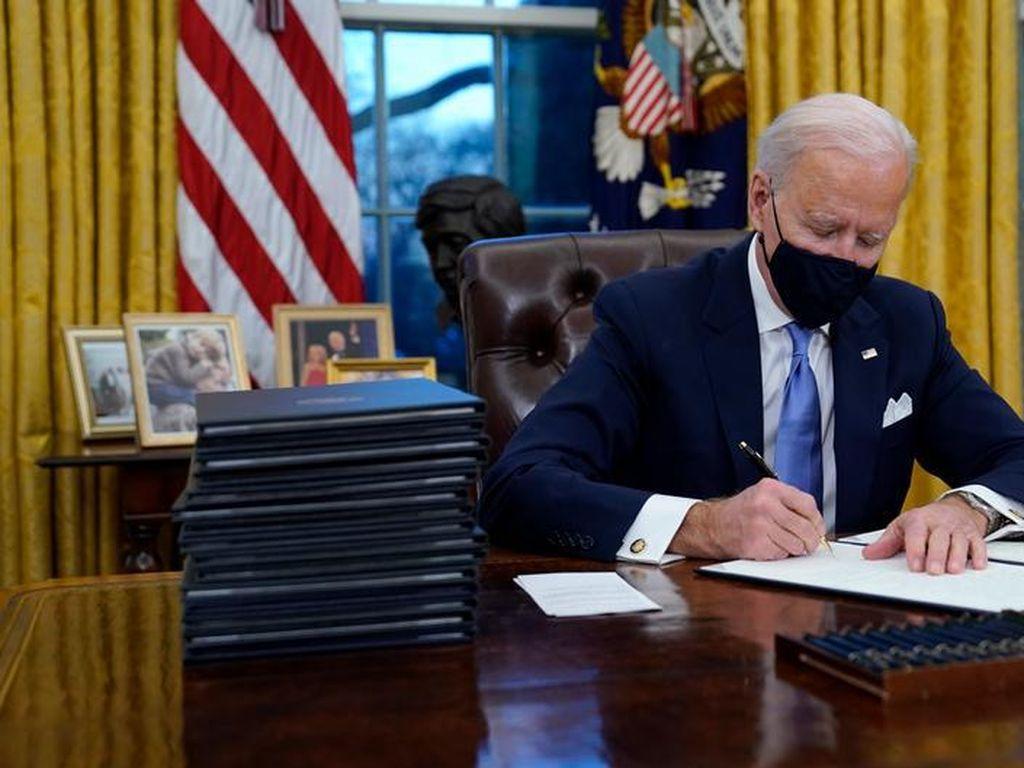 Joe Biden Bawa AS Bergabung Lagi dengan Perjanjian Iklim Paris