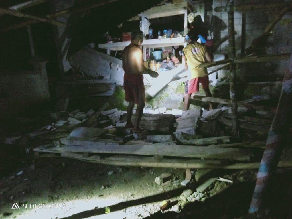Bangunan di Sejumlah Wilayah Kepulauan Talaud Rusak Akibat Gempa M 7,1