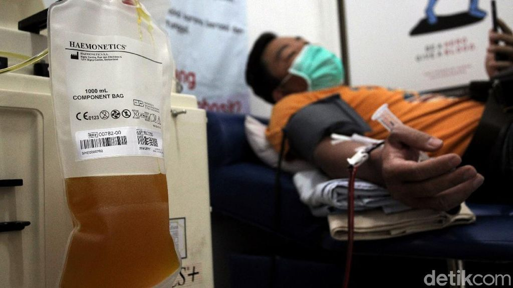 Donor Plasma Konvalesen Beri Asa Akhiri Pandemi Corona