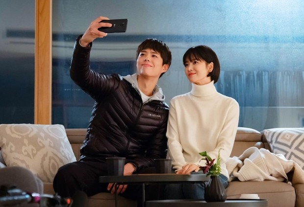 Song Hye Kyo dan Park Bo Gum/Sumber:instagram.com/asia