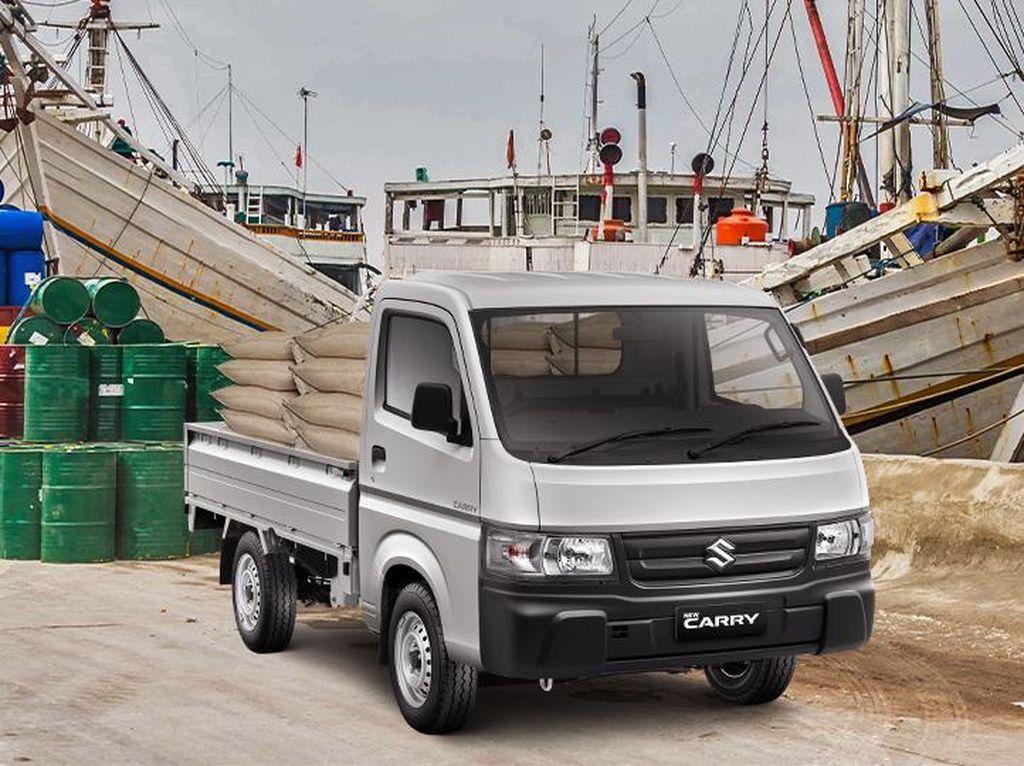Tampang Suzuki New Carry Pick Up yang Kini Dilengkapi APAR