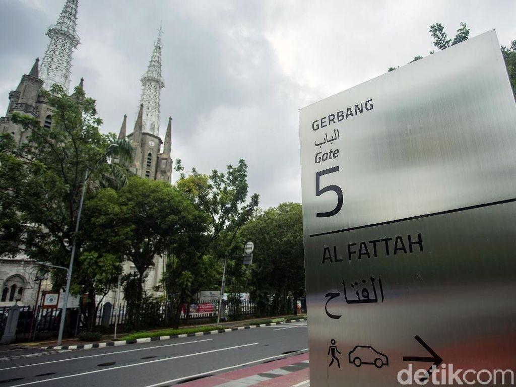 Skema Lalulintas Perayaan Paskah di Gereja Katedral: Masjid Istiqlal Sediakan Area Parkir
