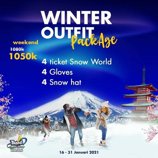 harga tiket snow world bintaro