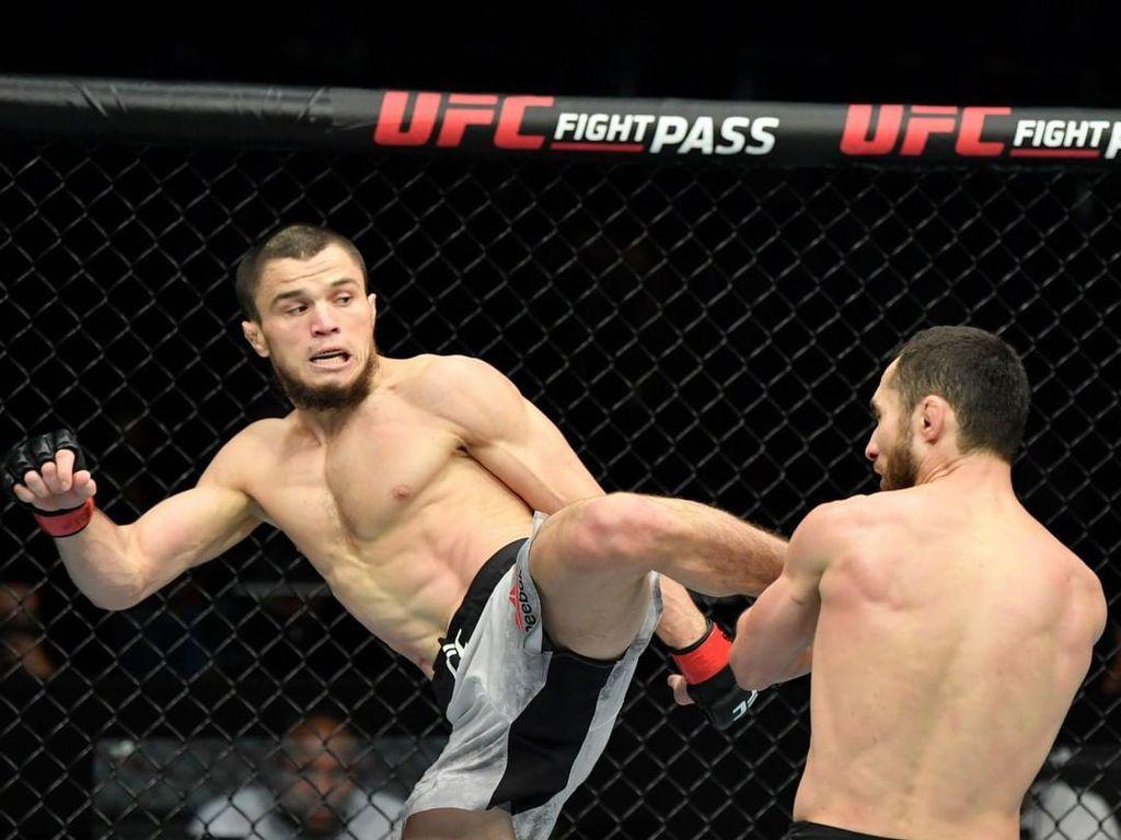 Umar Nurmagomedov, Sepupunya Khabib Debut dan Menang di UFC