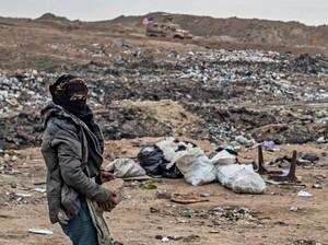 Warga Suriah Bertahan Hidup Mengais Sampah dekat Ladang Minyak