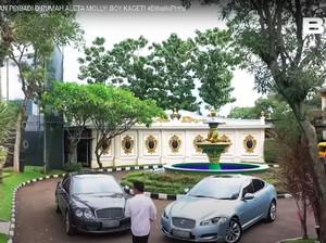 Intip Rumah Penyayi Crazy Rich Aleta Molly, Ada Lapangan Golf Sampai Kuburan