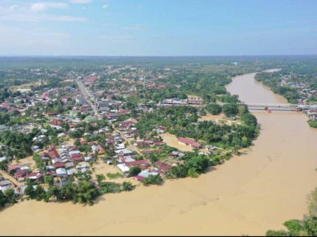 Banjir di Aceh Tamiang Meluas, 4.147 Warga Mengungsi
