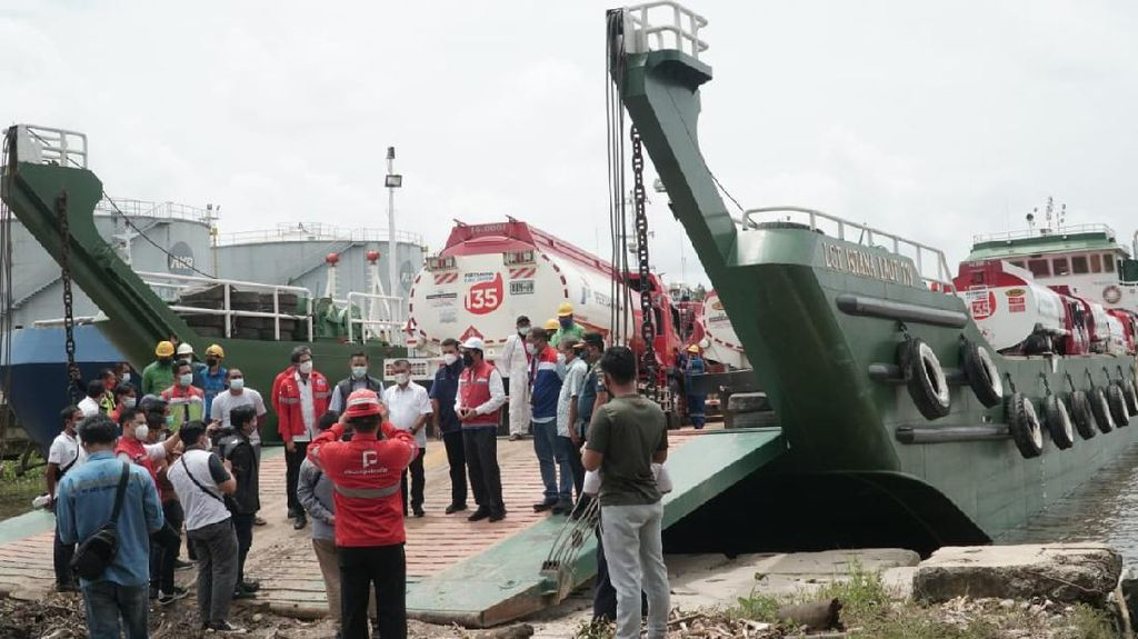 Pertamina Salurkan Bantuan Bencana