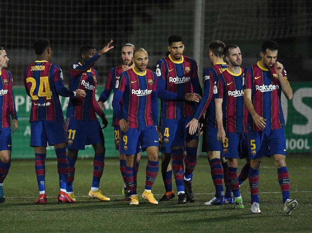 Barcelona yang Hobi Main Sampai Extra Time