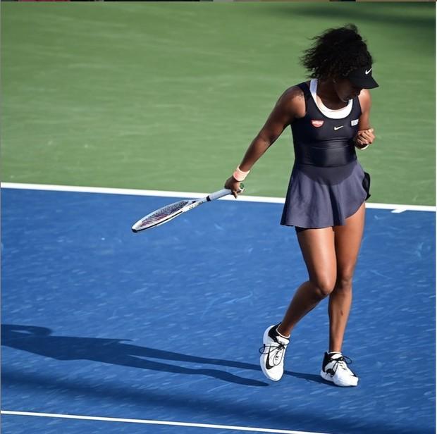 Naomi Osaka yang merupakan pemain tenis ke-3 dunia.