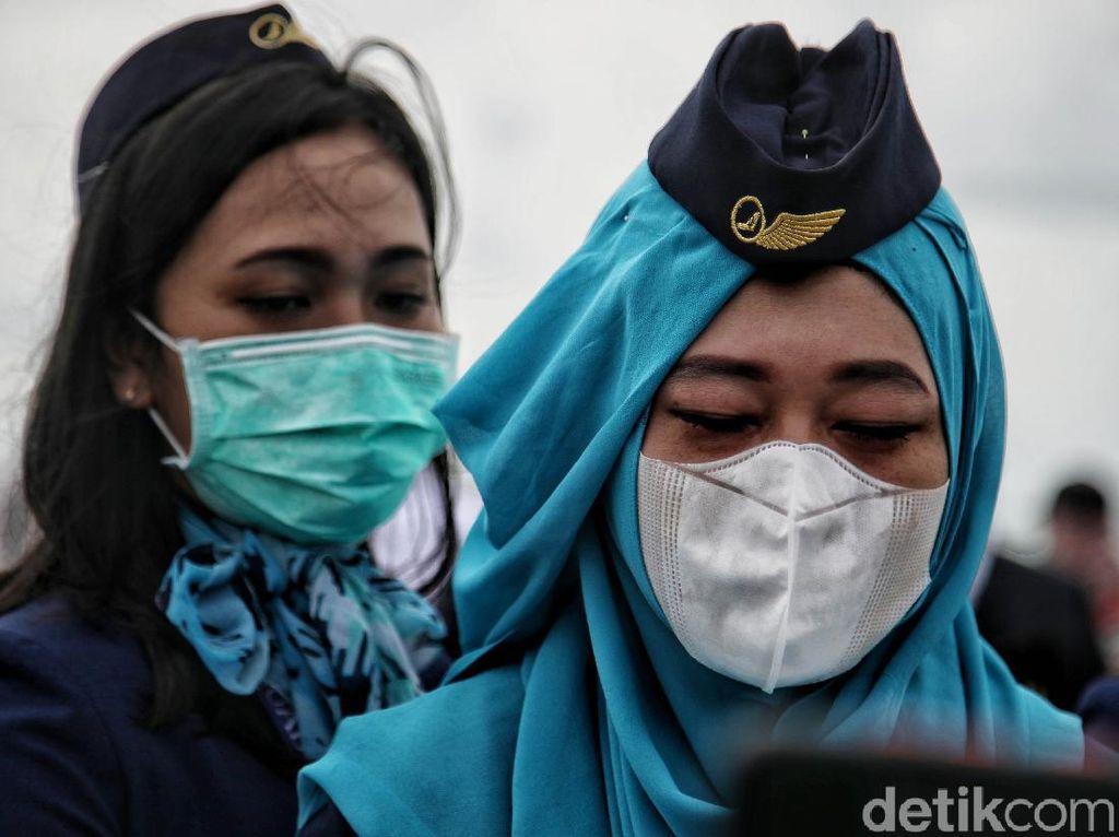 KNKT Ungkap Kendala Cari CVR Sriwijaya Air SJ182: Cuaca Buruk-Lumpur Tebal