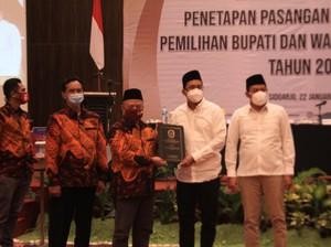 Ahmad Muhdlor Ali-Subandi Ditetapkan Jadi Bupati dan Wabup Sidoarjo Terpilih