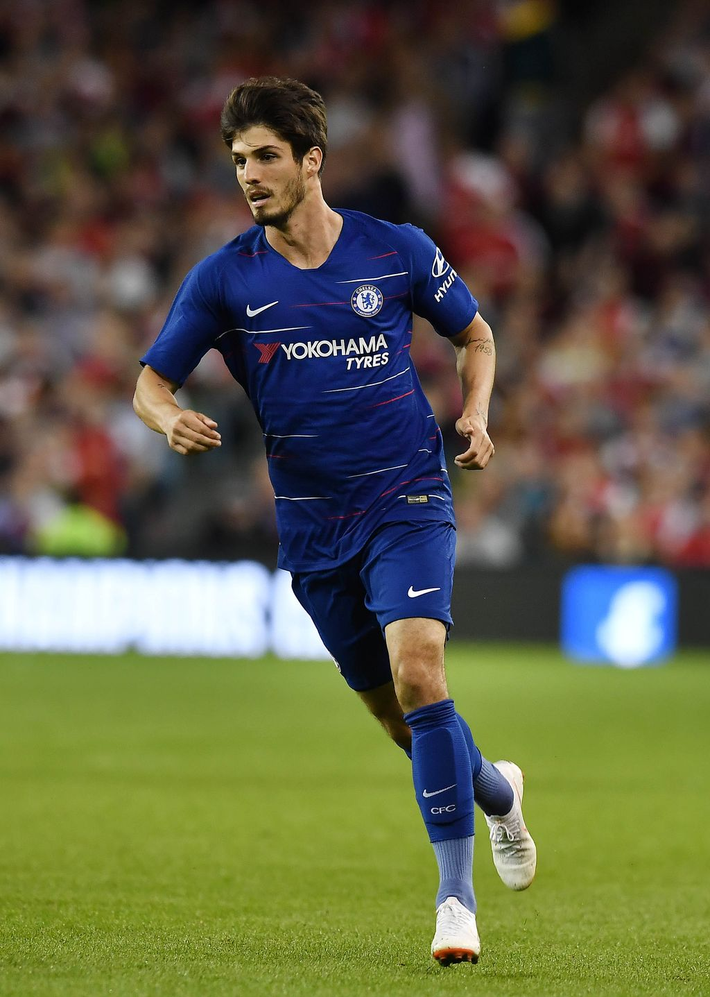 DUBLIN, IRELAND - AUGUST 01: Lucas Piazon of Chelsea during the Pre-season friendly International Champions Cup game between Arsenal and Chelsea at Aviva stadium on August 1, 2018 in Dublin, Ireland. (Photo by Charles McQuillan/Getty Images)