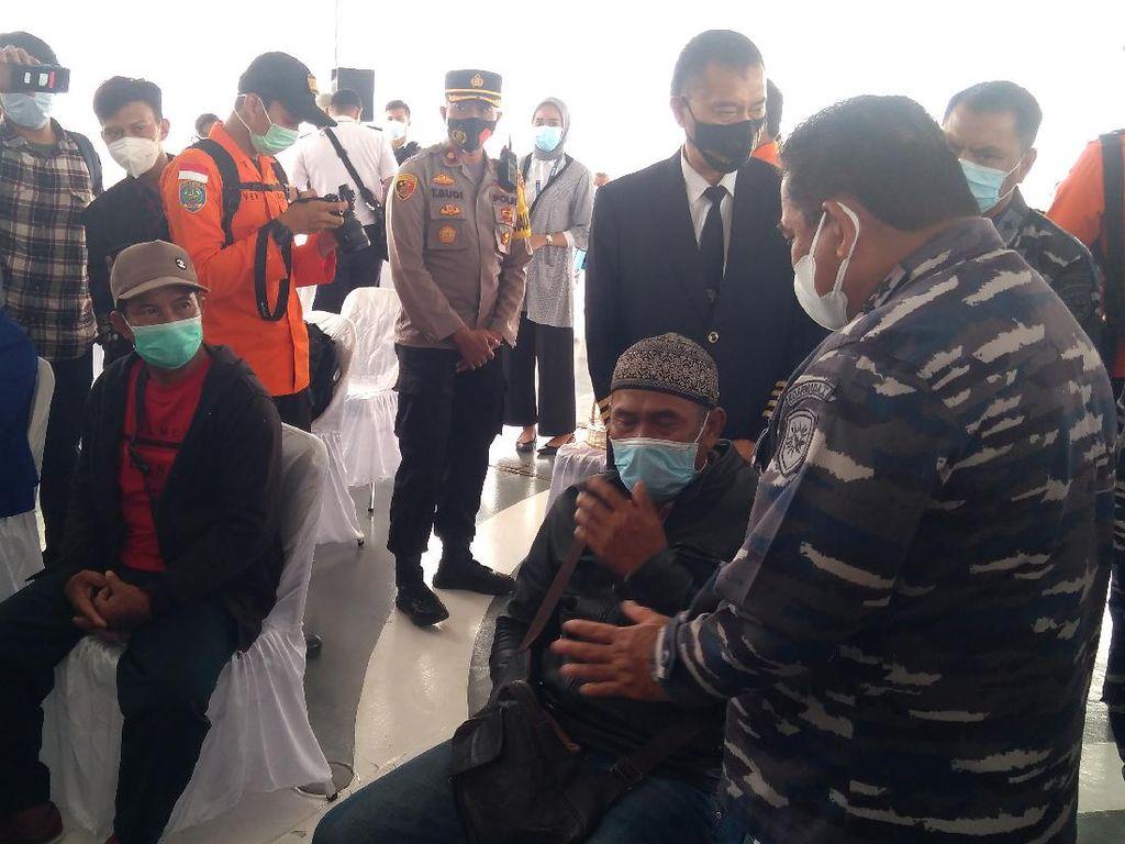 Evakuasi SJ182 Ditutup, Kabasarnas ke Keluarga: Kapal Kami Tetap Mencari