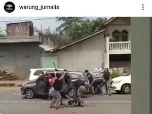 Dramatis! Detik-detik Perampok Setengah Miliar di Semarang Ditangkap