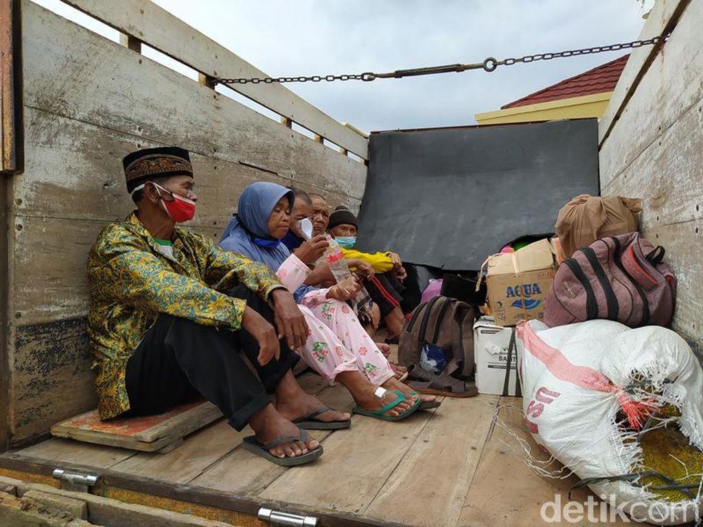 Ratusan Pengungsi Gunung Merapi Pulang ke Rumah