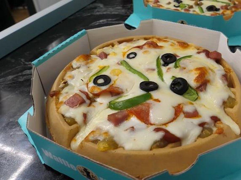 Setelah Croffle, Pizza Waffle Kini Jadi Tren di Korea
