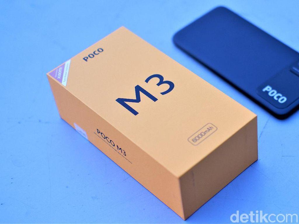 Unboxing Poco M3, Ponsel Rp 1,8 Juta Punya Spesifikasi Menggoda