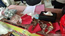Tangkap Perampok Duit Setengah Miliar di Semarang, Polisi Sita 3 Senpi